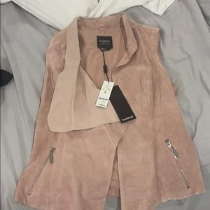 Bebe leather  top